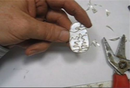 Second Additional product image for - Channel Work, how to make channels for inlay, taught by Don Norris, Silversmithing for jewelry making.