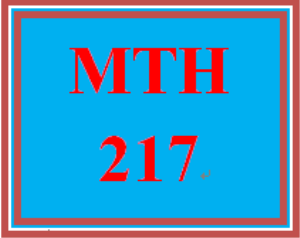 MTH 217 Week 4 Analyzing College Success Scenario | eBooks | Education