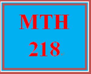 MTH 218 Week 3 Worthy Cause Scenarios   eBooks   Education