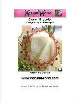 crown bracelet - uk crochet terms used