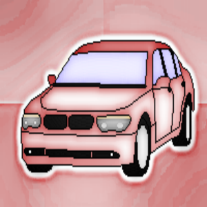pixel car - bmw 745i