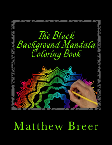 The Black Background Mandala Coloring Book PDF | eBooks | Arts and Crafts