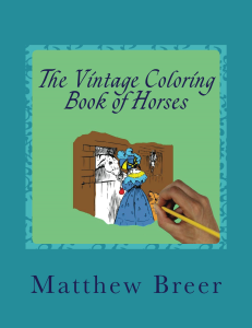 The Vintage Coloring Book of Horses PDF | eBooks | Arts and Crafts