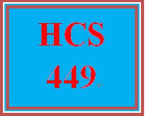 HCS 449 Week 1 BSHA End of Program Questionnaire | eBooks | Education