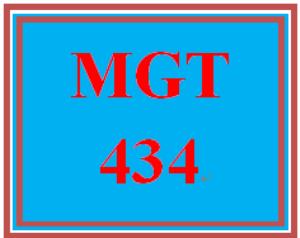 MGT 434 Week 2 Learning Team Charter | eBooks | Education