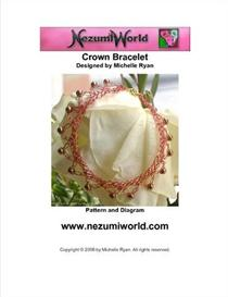 Crown Bracelet - USA Crochet Terms Used | eBooks | Arts and Crafts