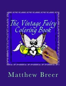 The Vintage Fairy Coloring Book | eBooks | Arts and Crafts