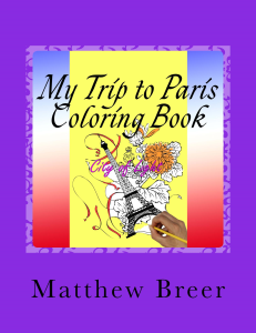 My Trip to Paris Coloring Book PDF | Crafting | Cross-Stitch | Religious