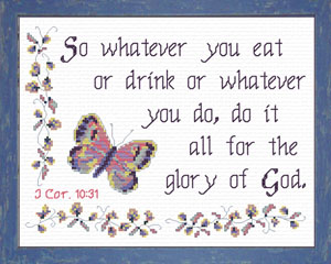 For the Glory of God | Crafting | Cross-Stitch | Other