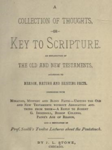 A Collection of Thoughts; Or, Key to Scripture by J. L. Stone | eBooks | Self Help