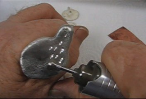 Second Additional product image for - Flex Shaft Attachments 7, Fly Wheel for diamond cuts, taught by Don Norris, Silversmithing for jewelry making.
