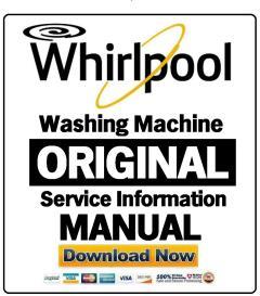 Whirlpool AWE6100D Washing Machine Service Manual | eBooks | Technical