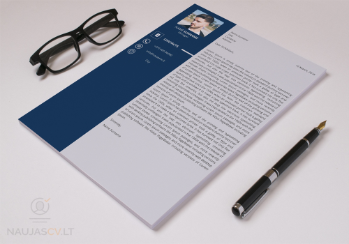 Second Additional product image for - Professional resume template + cover letter