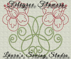 Filigree Flowers PES | Crafting | Embroidery