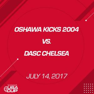 girls u13 a-flight oshawa kicks 2004 v. dasc chelsea 13g0153