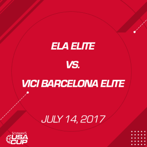 Boys U14 A-Flight: Ela Elite V. Vici Barcelona Elite | Movies and Videos | Sports