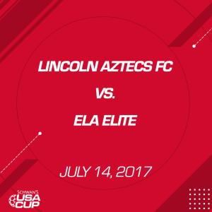 Boys U17 A-Flight Lincoln Aztecs FC 17B0791 V. Ela Elite 17B0465 | Movies and Videos | Sports