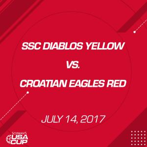 Boys U15 A-Flight: SSC Diablos Yellow V. Croatian Eagles Red   Movies and Videos   Sports