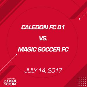 Boys U16 A-Flight: Caledon FC 01 V. Magic Soccer FC | Movies and Videos | Sports