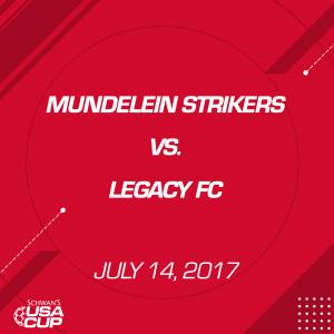 boys u17 a-flight: mundelein strikers v. legacy fc