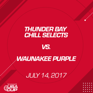 Girls U15 A-Flight: Thunder Bay Chill Selects V. Waunakee Purple | Movies and Videos | Sports