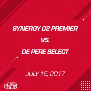 Boys U15: Synergy 02 Premier V. De Pere Select | Movies and Videos | Sports