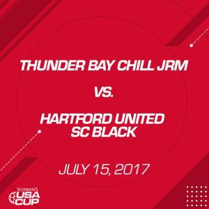 Boys U16: Thunder Bay Chill JRM V. Hartford United SC Black   Movies and Videos   Sports