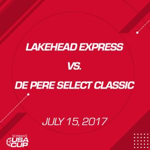 girls u16: lakehead express v. depere select classic