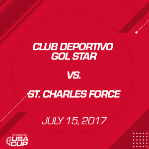girls u14: club deportivo gol star v. st. charles force