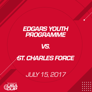 boys u13: edgars youth programme v. st. charles force