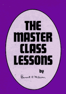 The Master Class Lessons by Ernest C. Wilson | eBooks | Self Help