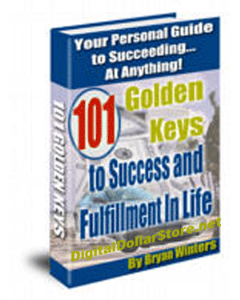 101 Golden Keys to Success and Fulfillment in Life by Bryan Winters | eBooks | Self Help
