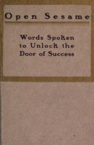 Open Sesame: Words Spoken to  Unlock the Door of Success by Janet Young | eBooks | Self Help