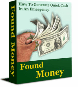 Found Money: How to Generate Quick Cash  in an Emergency by Zhao | eBooks | Self Help