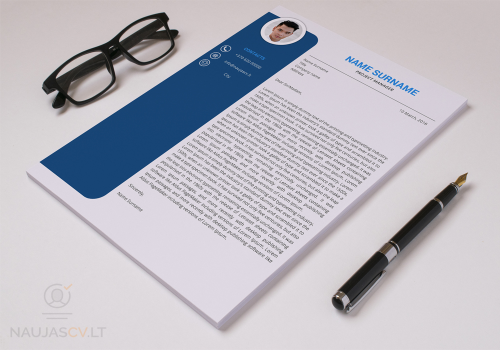 Second Additional product image for - Professional resume template