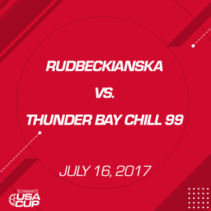 boys u19 final: rudbeckianska v. thunder bay chill 99