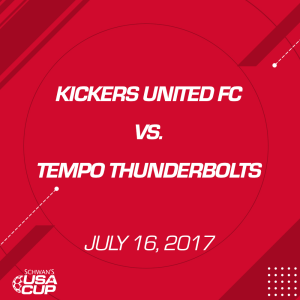 boys u13: kickers united fc v. tempo thunderbolts