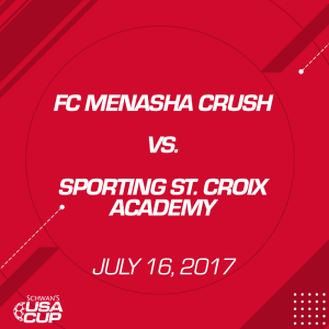 Boys U13: FC Menasha Crush V. Sporting St. Croix Academy | Movies and Videos | Sports