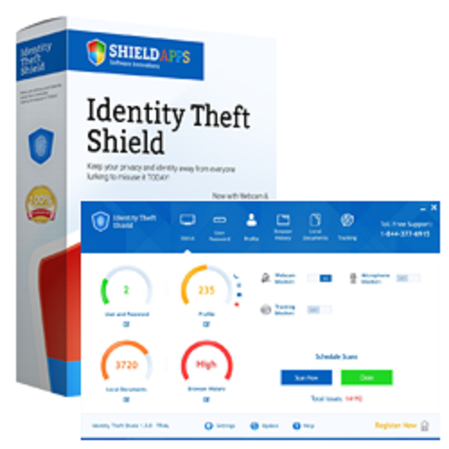 First Additional product image for - Identity Theft Shield - 24 Months license