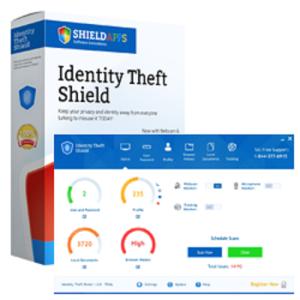 identity theft shield - 24 months license
