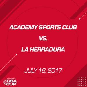 boys u12 11v11: academy sports club v. la herradura