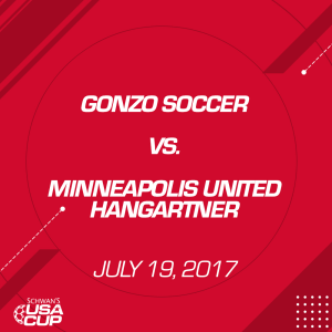 girls u14 silver: gonzo soccer v. minneapolis united hangartner