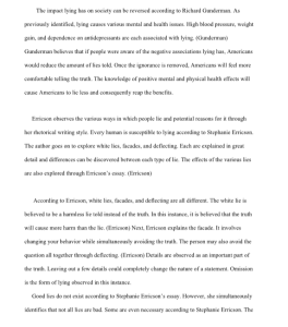 Compare Contrast Final Essay  4 pages | Documents and Forms | Research Papers