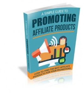 simple guide to promoting affiliate products ebook