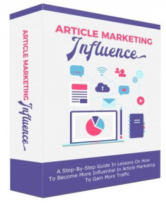 Article Marketing Influence eBooks | eBooks | Business and Money