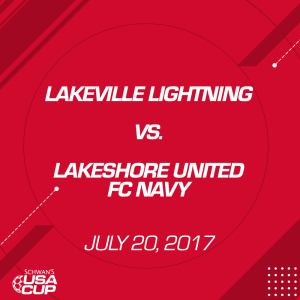 girls u15 gold: lakeville lightning v. lakeshore untied fc navy