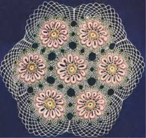 Vintage Beaded Doily Pattern | Crafting | Crochet | Other