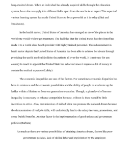 The American Dream Research Paper 3 pages | Documents and Forms | Research Papers