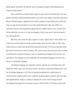the power of television research paper 5 pages