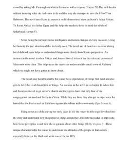 to kill a mockingbird summary 4 pages